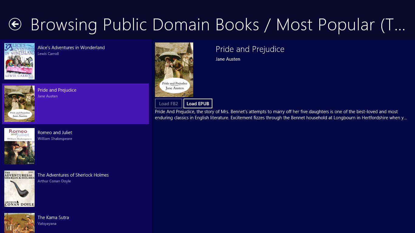 Downloading DRM-free books to your local library